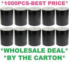 1000 x DVD-R/DVDR (10 x 100) Blank Disks/Discs Burn White Matt InkJet Printable