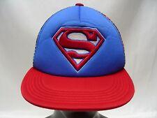 SUPERMAN - DC COMICS - ADJUSTABLE SNAPBACK BALL CAP HAT!