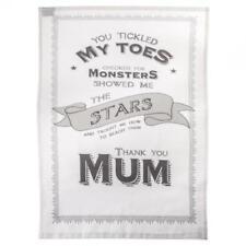 East of India 'Thank you Mum' Tea Towel Gift 1248 EOI
