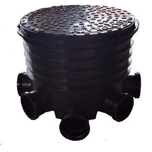 450mm Manhole Inspection Chamber Cover/Lid Riser Base Seal Socket Plug