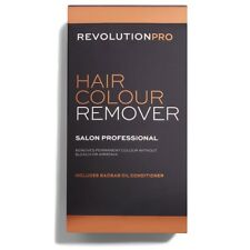Revolution Pro Hair Colour Stripper Bleach Free Hair Colour Dye Remover.