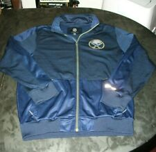 BUFFALO SABRES ZIP UP JACKET SIZE LRG CARL BANKS GIII SPORTS ALL SEWN NICE SHAPE