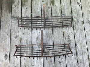 Vintage Metal Oyster Tongs Rack Maritime Nautical Chesapeake Bay Tool Watermen