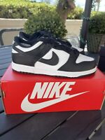 Nike Dunk Low Retro White Black Size 13C, 1Y, 2Y PS CW1588-100 NEW DS SHIPS NOW