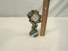 """Ceramic Clock figurine """"Time Avenue"""" Quartz"""
