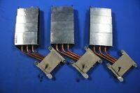 Lot of 3 APPLE IMAC A1312 MID 2010 CPU COOLING FAN HEATSINK ONLY 730-0625-A