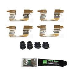 SUZUKI GRAND VITARA 2009 - > Posteriore Pastiglie Dei Freni Kit di montaggio anti Sonaglio RASAMENTI bpf1841b