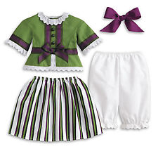 "American Girl Marie Grace Striped Party Outfit-Brand NEW for 18"" Dolls Cecile"
