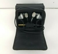 Bose Triport IE Headphones In Ear Earbuds w/ Magnetic Case Tested & Working