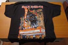 veryhot rare Iron Maiden England North American 2012 Tour T-shirt gildan.Chicago