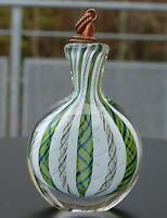 Seltenes geschnürltes Schnupftabakglas - Bixl - Schnupftabakflasche !! Nr.109