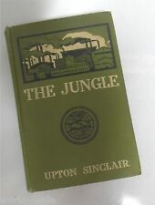 Jungle Upton Sinclair First Edition 1st Printing / state 1906 Sustainer's 1/5000