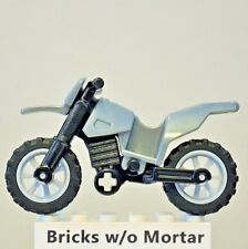New Genuine LEGO Dark Bluish Gray Motorcycle Dirt Bike Indiana Jones 7620