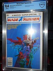 MARVEL SUPER SPECIAL 22 BLADE RUNNER CBCS 9.4 STERANKO 1982