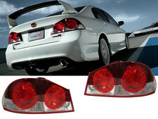 DEPO Type-R JDM / Euro Conversion Tail Lights For 06 07 08 09-11 Honda Civic 4DR