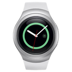 Samsung Galaxy Gear S2 42mm Stainless Steel Case Silver Classic Buckle -...