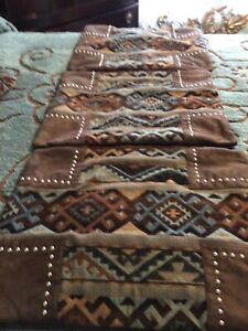4 Euro Southwest Western Throw Pillow Covers Beautiful Colors Must C!!