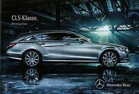 Mercedes CLS Shooting Brake Prospekt 2.3.12 brochure 2012 Auto PKWs Autoprospekt