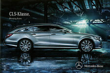 Prospekt mercedes cls Shooting Brake 2.3.12 brochure 2012 auto turismos auto folleto