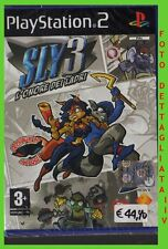 SLY 3: L'ONORE DEI LADRI  ps2 ITA new sealed SIGILLATO playstation