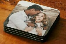 Personalised  Square Photo Coaster with Any Image / Logo or Text