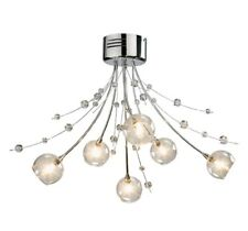 Argos Chrome Ceiling Lights Amp Chandeliers For Sale Ebay