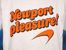NOS vintage 90s NEWPORT PLEASURE CIGARETTES T-Shirt XL tobacco marlboro thin