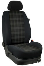 VW Golf 5 GTI/r32 grado fundas para asientos ya referencia rücksitzbezug: marlin/negro