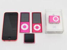 Lot 5 Apple iPod Nano Shuffle iPhone 5c A1532 A1366 A1204 A1285 A1320 Pink