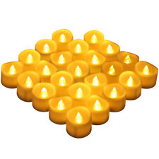 12-24PCS Flameless LED Tea Light Candles Battery Powered Wedding Party Home Deco