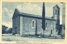 * Acquasparta ( Umbria ) : Chiesa di S. Francesco ( XIII sec.) * Viaggiata 1931