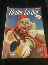 Better Living Magazine July 1952 Vintage Magazine Coca Cola Advertisement AD