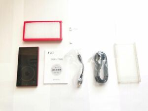 FiiO X3 Mark III 3 Portable Hi-Res Lossless Digital Audio Music Player red