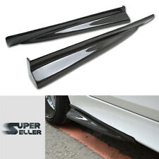 CARBON FIBER Fit For BMW 5-SERIES E60 M5 DTO TYPE SIDE SKIRTS BODY KITS 04+
