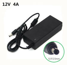 12V 4A AC/DC Adapter Power Supply For LCD Display Monitor TV Computer Laptop PC