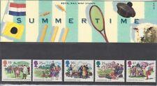 GB 1994 Cuatro estaciones Verano presentación Pack 250 SG 1834-1838 conjunto de sello de menta