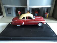 Oxford  1950  OLDSMOBILE  ROCKET 88  Red / Cream  1/87   HO  diecast car GM NEW