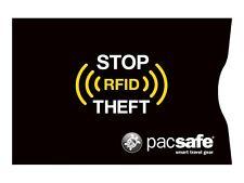 Pacsafe RFIDsleeve 25 Kreditkartenhülle 2er Pack Black