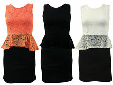Unbranded Lace V-Neck Midi Dresses for Women