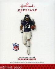 2013 Hallmark Keepsake Ornament - Shannon Sharpe - Football Legends Series - NEW