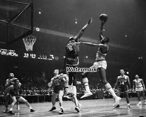 NBA 1960 Bill Russell Boston Celtics VS  Wilt Chamberlain 8 X 10 Photo Picture