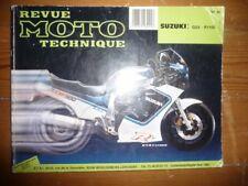 GSXR1100 Revue Technique moto Suzuki
