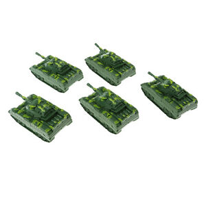 5Pcs   Vehicle Model Kids Toy  Launching Tank for Sand Table