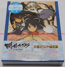 Senran Kagura ESTIVAL VERSUS Mizugi Darake no Zenyasai L/E Blu-ray CD Card Japan