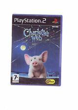 CHARLOTTE'S WEB - KIDS CHILDS PS2 GAME OF THE FILM - ORIGINAL & COMPLETE - VGC