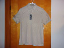 New Van Heusen Men'S Polo S/S Shirt in a Timber Wolf Color .Size.Small