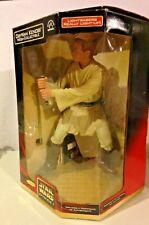 Applause Star Wars Episode 1 Obi-Wan Kenobi Mega-Collectible Lightsaber lightsup