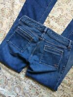 Abercrombie & Fitch Women's Designer Blue Jeans Size 4 Boot Cut Nice Blue Jeans