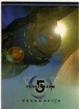 Babylon 5 Season 5 Full 81 Card Base Set of Trading Cards from SkyBox