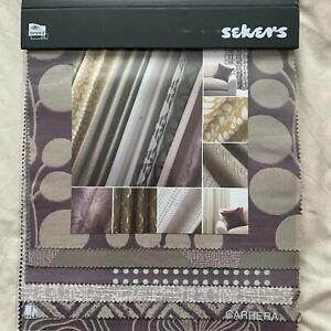 Sekers - Carrera    - Fabric Sample Book